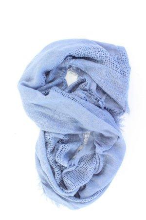 Cartoon Sjaal blauw-neon blauw-donkerblauw-azuur Acryl