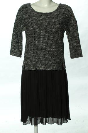 Cartoon Sukienka midi czarny-jasnoszary Melanżowy W stylu biznesowym