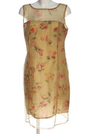 Cartoon Blouse Dress allover print elegant