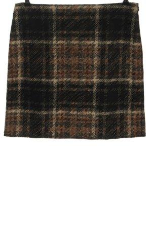 Cartoon Mini-jupe motif à carreaux style décontracté
