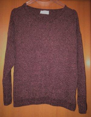 Cartoon V-Neck Sweater multicolored polyacrylic