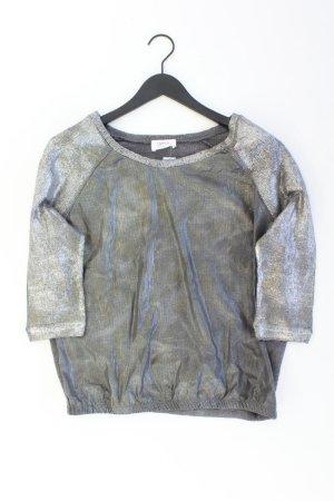 Cartoon Oversized Sweater silver-colored cotton