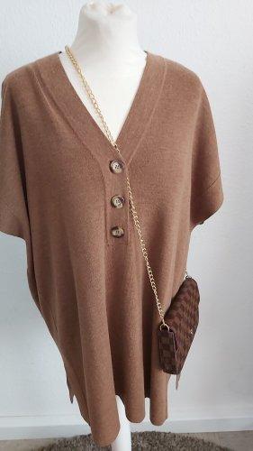 Cartoon Sweater Dress light brown