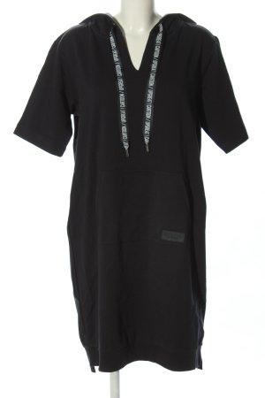Cartoon Swetrowa sukienka czarny Tkanina z mieszanych włókien