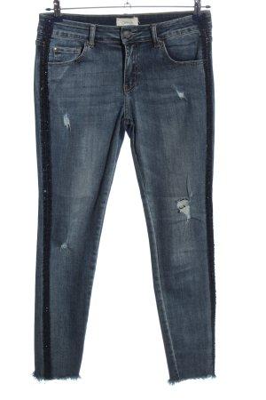 Cartoon Tube Jeans blue casual look