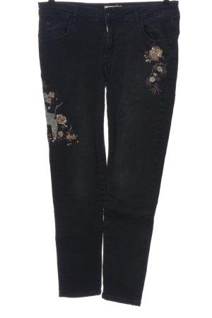 Cartoon Tube jeans prints met een thema casual uitstraling