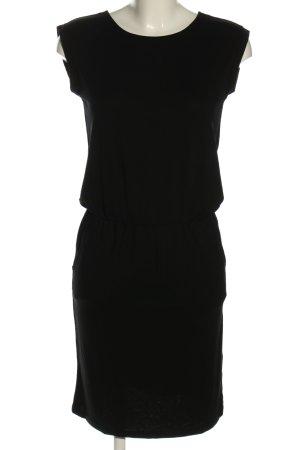 Cartoon Shirt Dress black casual look