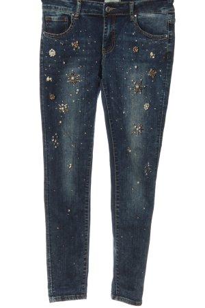 Cartoon Slim Jeans blue casual look