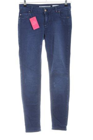 Cartoon Slim Jeans blau Casual-Look