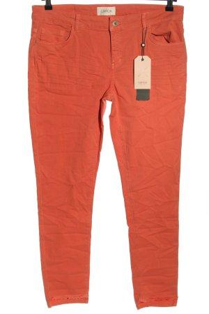 Cartoon Slim Jeans hellorange Casual-Look