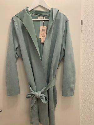 Cartoon Hooded Coat mint