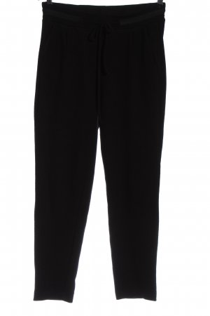 Cartoon Jersey Pants black casual look
