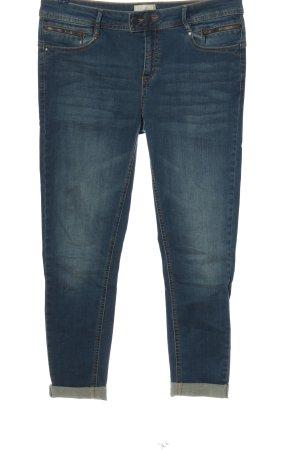 Cartoon Jeansy z prostymi nogawkami niebieski W stylu casual