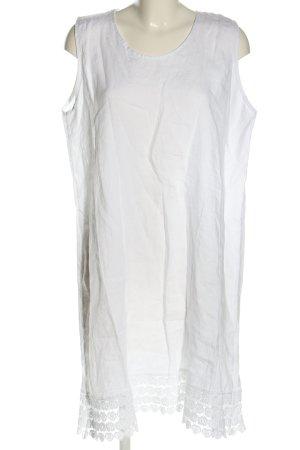 Cartoon Vestido playero blanco look casual