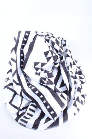 Cartoon Ręcznik plażowy biały-czarny Graficzny wzór W stylu casual