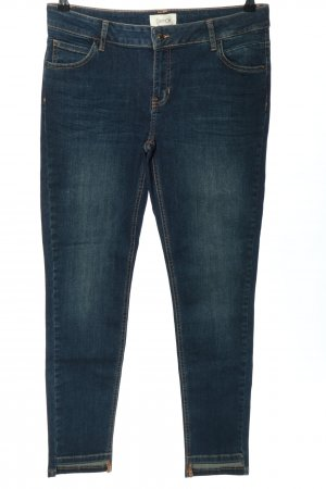Cartoon Stretch Jeans blue casual look