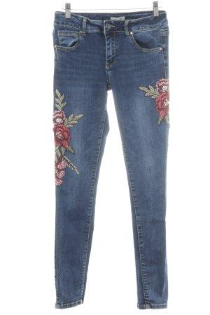 Cartoon Stretch Jeans multicolored casual look