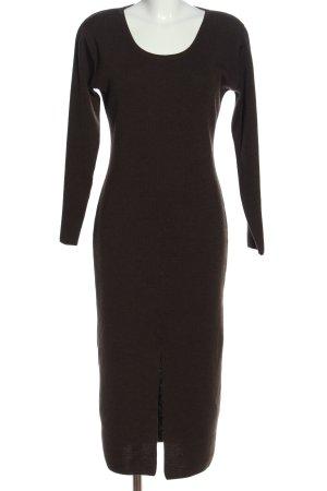 Cartoon Gebreide jurk bruin casual uitstraling