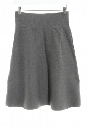 Cartoon Knitted Skirt grey simple style