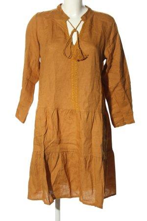 Cartoon Sukienka tunika jasny pomarańczowy W stylu casual