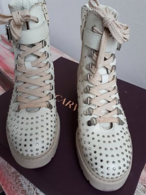 Carvela Ankle Boots white-silver-colored