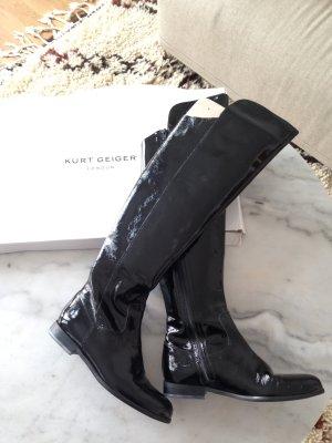 Carvela Boots black mixture fibre