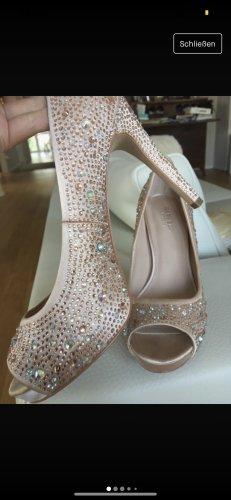 Carvela Peep Toe Pumps pink