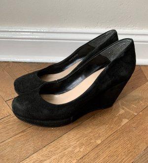 Carvela  Keilabsatz Schuhe in schwarz gr 38