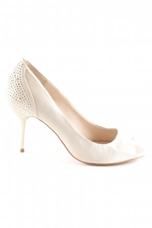 Carvela Peeptoe Pumps goldfarben Party-Look