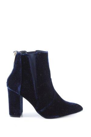 Carvela Reißverschluss-Stiefeletten blau Casual-Look