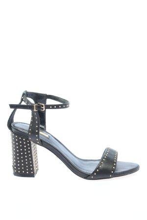 Carvela Strapped High-Heeled Sandals black elegant