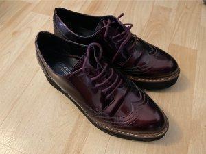 Carvela Sneaker con tacco marrone-viola