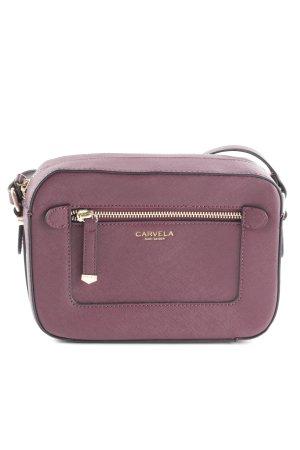 Carvela Schultertasche purpur schlichter Stil