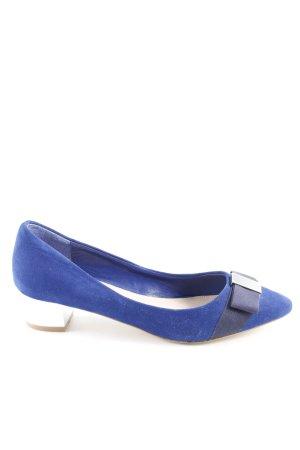 Carvela Pointed Toe Pumps blue elegant