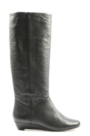 Carvela Wide Calf Boots black casual look