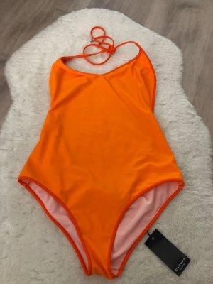 Carven Maillot de bain orange fluo