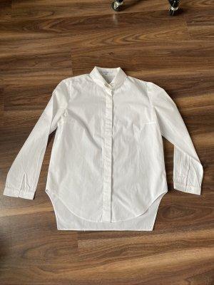 Carven Blouse-chemisier blanc coton