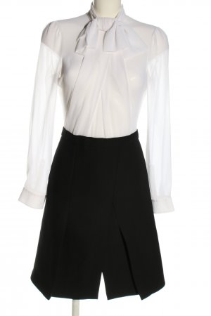 Carven Blouse Dress white-black casual look