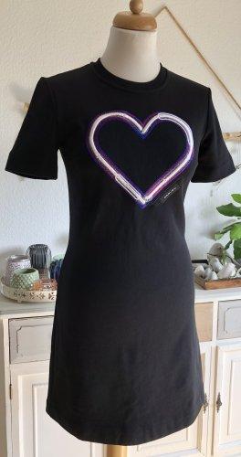Carven A-lijn jurk zwart Katoen