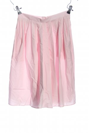 Carven Flared Skirt pink casual look