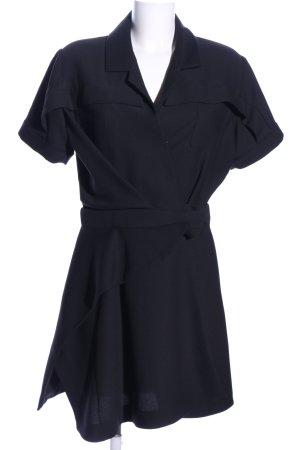 Carven Robe chemise noir style d'affaires