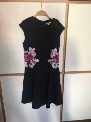 Carven Jersey Blumenkleid
