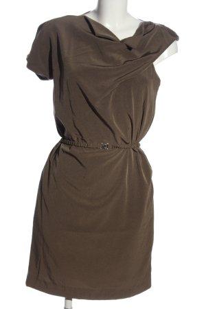 Carven Robe à manches courtes brun style décontracté