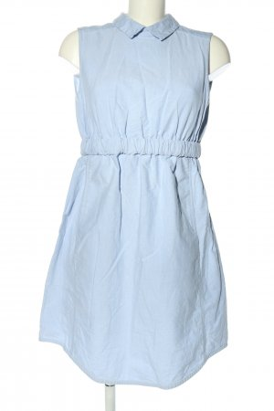 Carven Mini Dress blue casual look