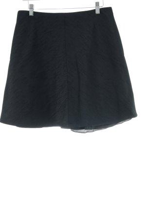 Carven Mini-jupe noir moucheté élégant