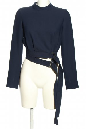 Carven Slip-over Blouse blue casual look