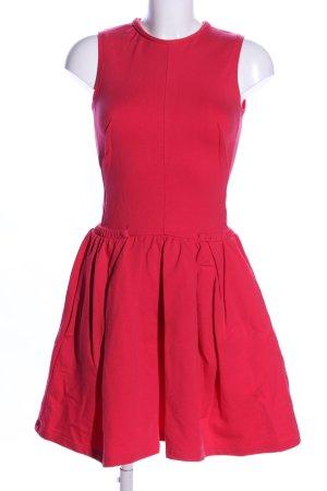 Carven Abito felpa rosso stile casual