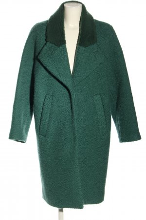 Carven Wool Coat green casual look