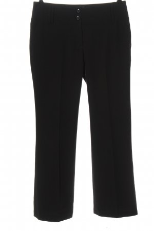 Casa Blanca Pantalon zwart zakelijke stijl