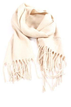 Casa Blanca Sjaal met franjes room casual uitstraling